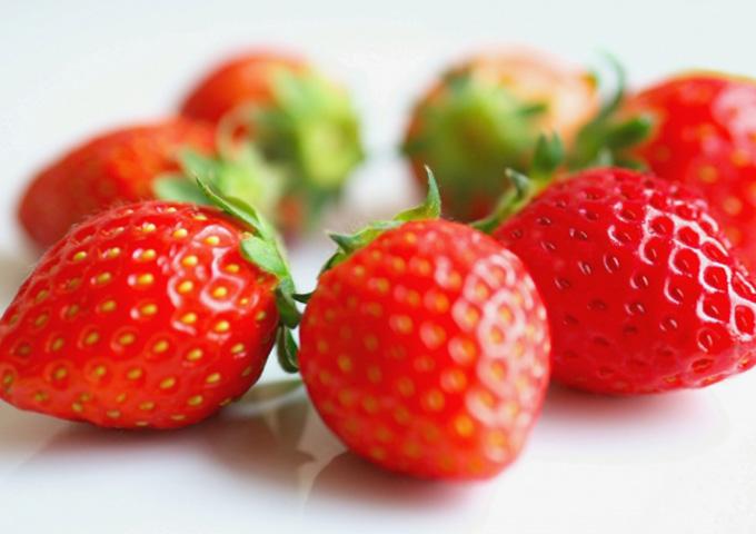 葉酸の多い果物 いちご