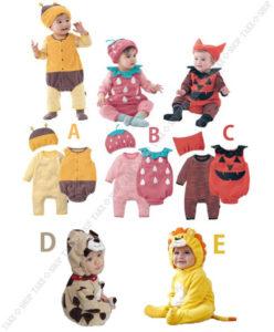 赤ちゃん ハロウィン 仮装