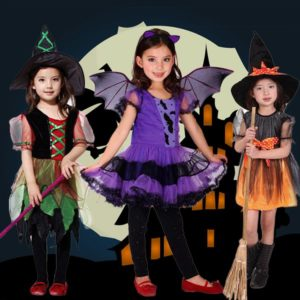 ハロウィン キッズ衣装 魔女