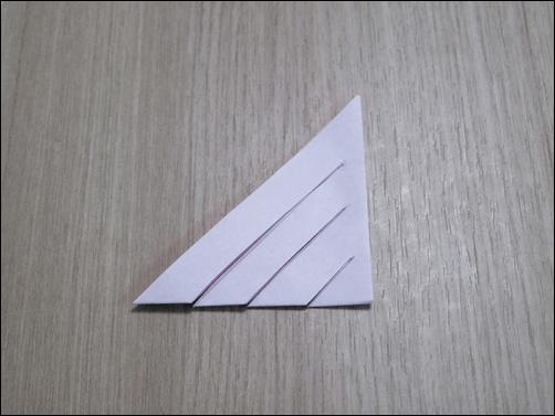 折り紙で作るクリスマス7
