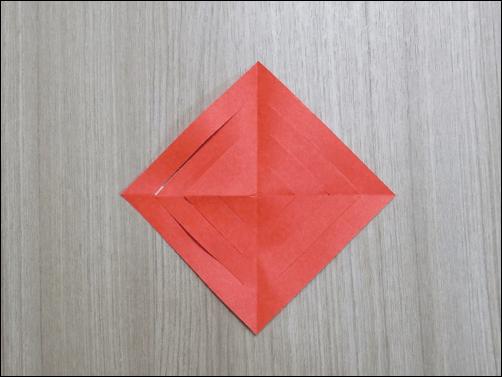 折り紙で作るクリスマス6