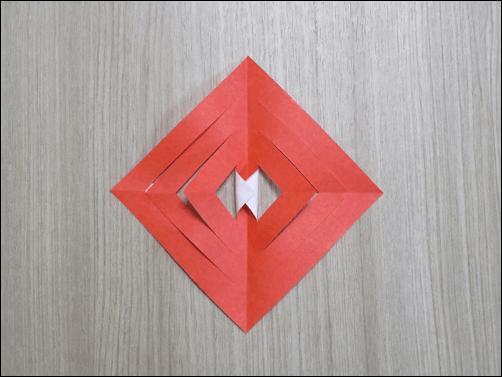 折り紙で作るクリスマス8