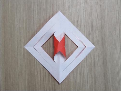 折り紙で作るクリスマス-