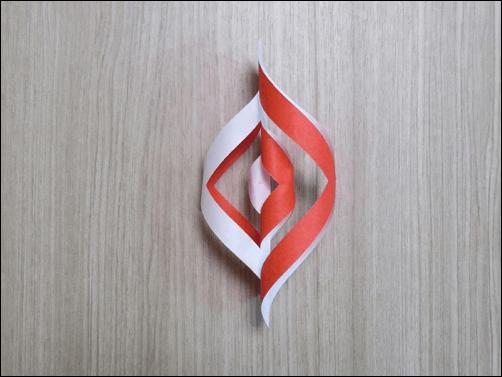 折り紙で作るクリスマス11