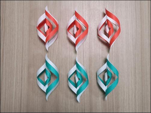 折り紙で作るクリスマス12