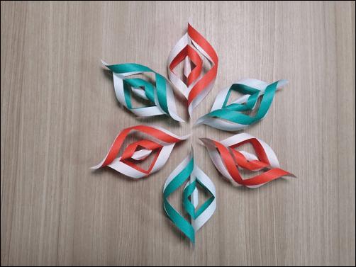 折り紙で作るクリスマス13